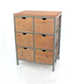 Teton Home Metal Cabinet - AF-037