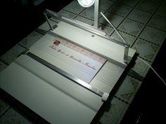 Mesa de Luz para caligrafia artistica