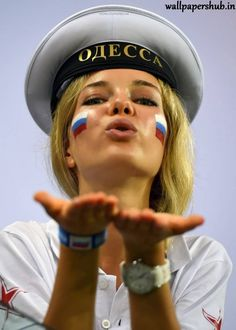 The power of Russia! More beautiful Russian girls at the World Cup World . - World Cup Girls - Russia Soccer World Cup 2018, Soccer Cup, Soccer Fans, Football Fans, Fifa World Cup, Football Girls, Girls Soccer, World Football, World Cup Russia 2018