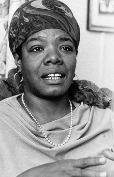 Maya Angelou, poet, playwright, author