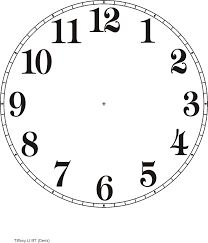 clock template printable purzen clock face clip art vector clip rh pinterest com