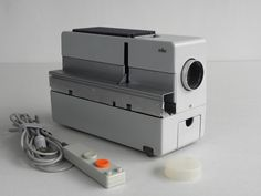 Braun D45 Projector made by Dieter Rams. Picture by Chris Ferebee