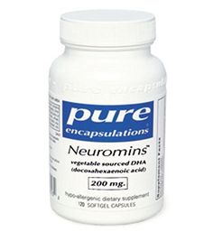 Pure Encapsulations - Neuromins 200 mg. - Hypoallergenic Supplement with Vegetarian DHA for Healthy Neural and Visual Development* - 120 Softgel Capsules *** Click image to review more details.