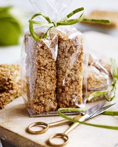 Debbie Major's flapjack recipe uses stem ginger for extra oomph. Cooked until gooey or crisp – either way these tasty treats are best enjoyed alongside a cup of tea.