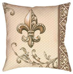 Fleur-de-lis #Pillow #flowers! Inspiration