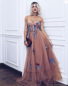 Boho Prom Looking for that perfect boho prom dress? Check out our dress collection & more on La Luna Gala Dresses, Formal Dresses, Long Dresses, Pretty Dresses, Beautiful Dresses, Dress Skirt, Dress Up, Dress Vestidos, Nude Dress