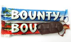 Bounty: the shape of paradise? Chocolate Brands, Chocolate Gifts, Chocolate Box, British Chocolate, Sweet Like Chocolate, Bounty Chocolate, Toffee Crisp, British Sweets, Sarnies