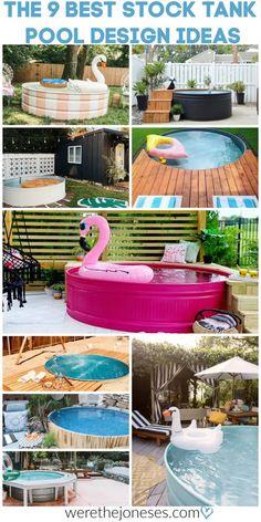 9 Best Stock Tank Pool Ideas | Creative DIY Swimming Pools » We're The Joneses
