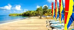 James's Club Morgan Bay Resort & Spa in Saint Lucia is perfect All-Inclusive Caribbean vacation resort. Caribbean Vacations, Vacation Resorts, All Inclusive Resorts, Honeymoon Destinations, Beach Resorts, Vacation Rentals, Vacation Spots, Trekking, St Lucia Island