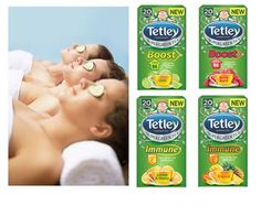 Win a Tetley hamper & relaxing spa treatment sweepstakes