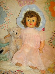 Ideal doll magic flesh Baby Ruth ~ I think this is the doll I have.