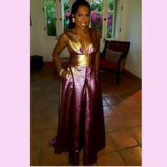 Serving Delicious Scoops Of Entertainment Regina King, Burgundy And Gold, Looking Stunning, Candid, Style Me, Two Piece Skirt Set, Celebrities, Skirts, Dresses