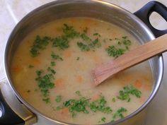 špaldová polievka - výborná pri virózach