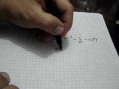 Aplicación de la Derivada al trazado de curvas (parte 1 de 2): Julio Rios explica los pasos para obtener información clave (usando la derivada) de una función, de modo que pueda bosquejarse su gráfica
