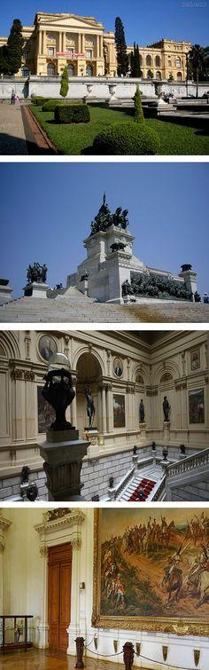 Museu Paulista, better known as Museu do Ipiranga, São Paulo, Brazil. Currently closed for renovations until 2016.