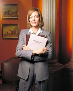Another of my heroes: C.J. Cregg from the West Wing.