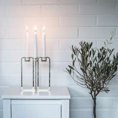 Golden quartet candelabra Candelabra, Minimalist Design, Candles, Traditional, Interior Design, Instagram Posts, Nest Design, Minimal Design, Home Interior Design