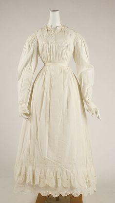 Dress British ca. 1825-1830