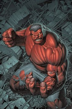 #Red #Hulk #Fan #Art. (Hulk #1 Exclusive Variant Cover) By: Dale Keown. (THE * 3 * STÅR * ÅWARD OF: AW YEAH, IT'S MAJOR ÅWESOMENESS!!!™)[THANK Ü 4 PINNING!!!<·><]<©>ÅÅÅ+(OB4E)