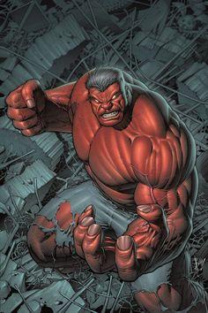 #Red #Hulk #Fan #Art. (Hulk #1 Exclusive Variant Cover) By: Dale Keown. (THE * 3 * STÅR * ÅWARD OF: AW YEAH, IT'S MAJOR ÅWESOMENESS!!!™)[THANK Ü 4 PINNING!!!<·><]<©>ÅÅÅ+(OB4E)