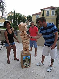7800 Backyard Block Party Outdoor Game HUGE By