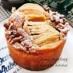 これね、本当に簡単なのに美味しいんです😋 ガトーとはフランス語でケーキとか、焼き菓子とゆう意味です❣️ 🍀材料 12cm底取れ丸型 ・卵 1個分 ・きび砂糖 60g ・牛乳 30ml ・溶かしバター 60g ☆薄力粉 100g ☆ベーキングパウダー 3g *りんご 1/2個 *好みのナッツ類とか 適量