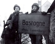 101st airborne easy company | member of 101st Division Signal Company in a foxhole with his trusty ...
