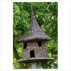 woven willow dovecote