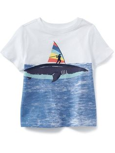 Shop fun graphic tees for your little guy at Old Navy. From various styles and designs, Old Navy is the only place you need to upgrade his wardrobe. Boys Summer Outfits, Baby Boy Outfits, Boys T Shirts, Cute Shirts, T Shirt Photo Printing, Little Man Style, Retro Girls, Kids Wear, Kids Fashion