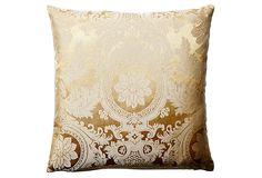 Gisella 16x16 Cotton Pillow, Gold on OneKingsLane.com