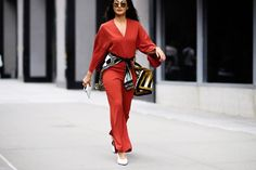 How To Upgrade Your Office Style This Fall jumpsuit