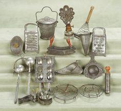 Miniature utensils