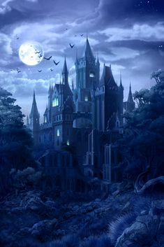 Learn which horror movies help with relationships - Beautiful Darkness - halloween art Dark Fantasy Art, Fantasy Artwork, Fantasy Art Landscapes, Fantasy City, Fantasy Castle, Fantasy Places, Fantasy Landscape, Fantasy World, Dark Art