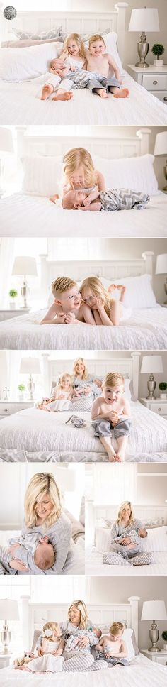 Lifestyle newborn session >> in-home bedroom pictures