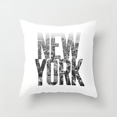 New york pillow cover new york city pillownew york by JAYSANSTUDIO