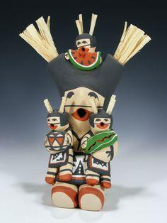 Jemez Pueblo Pottery Storyteller by Judy Toya