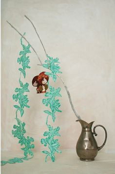 x-mas4 Vase, Painting, Home Decor, Style, Swag, Decoration Home, Room Decor, Painting Art, Paintings
