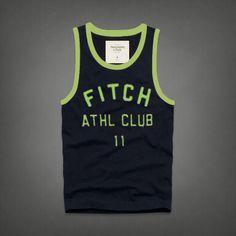 Cheap Abercrombie & Fitch Cotton Vest Mens AFC1084  http://abercrombie-sale.net/