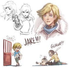 I recently played Resident Evil 6 Here are some doodles of Sherry Birkin New favorite character? She's so cute Sherry Birkin Doodles Resident Evil Video Game, Resident Evil Anime, Good Horror Games, Horror Video Games, Funny Fun Facts, Evil Games, Evil Art, The Evil Within, King Of Fighters