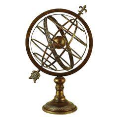 Metal Armillary Sphere