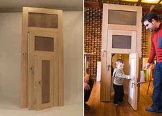 The Slamdoor - kids would LOVE this! However, it would make me feel sad and old when they're grown and the door remains...