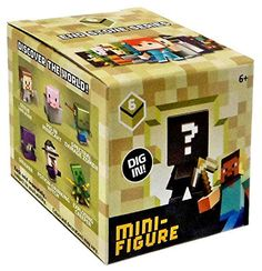 Minecraft End Stone Series 6 Mini Figure Mystery Pack Min…