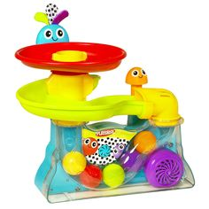 Amazon.com: Playskool Explore N' Grow Busy Ball Popper: Toys & Games