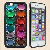 The Artist's Color Plate Case Cover For IPhone 4/4s,IPhone 5/5s/5c,Samsung Galaxy S5 S6 S7,IPhone SE,iPhone 6/6s Plus Phone Case