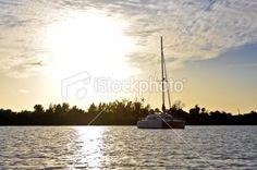Katie and Ben's boat