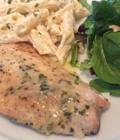 Lemon Butter Herb Salmon - You can use any type of fish to make this delicious baked dinner tonight.
