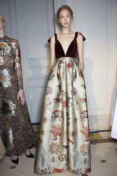 Backstage at the Valentino Haute Couture Autumn/Winter 2013/2014 Collection