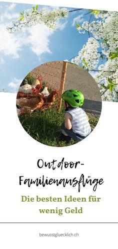 Outdoor-Familienausflüge sind teuer? Nein, muss nicht sein! In diesem Beitrag teile ich meine liebsten Outdoor-Familienausflüge mit dir, die nichts oder kaum etwas kosten.  #outdoorfamilienausflüge #ausflügemitkindern #schweizerfamilienblogs Blog, Outdoor, Frugal, Road Trip Destinations, Switzerland, Things To Do, Money, Travel Destinations, Outdoors