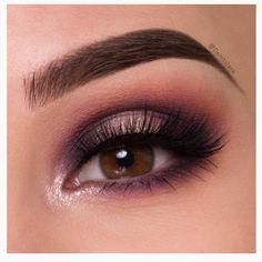 Potential bridesmaid eye makeup by @denitslava