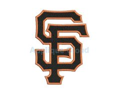 San Francisco Giants Embroidery Design  San by AppliqueCloud